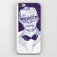 Bowtie Man iPhone & iPod Skin