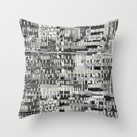 Exploiting Digital Behav… Throw Pillow