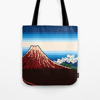 Rainstorm Below The Summ… Tote Bag
