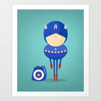My dreaming hero! Art Print