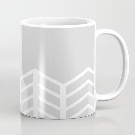 LACE CHEVRON (GRAY) Mug
