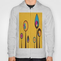 Yellow With Multi-Colore… Hoody
