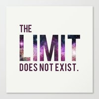 The Limit Does Not Exist - Mean Girls quote from Cady Heron Canvas Print