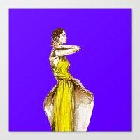 Lady Audrey Calla Lily V… Canvas Print
