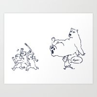 a dose of polar bear Art Print