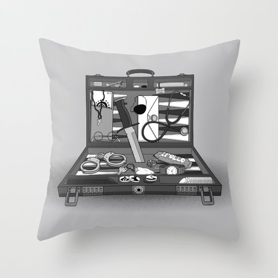 Lost Souvenirs Throw Pillow