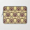 butterfly mask wallpaper pattern Laptop Sleeve