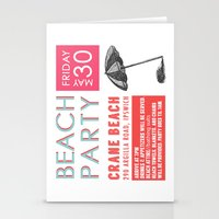 Party Card Invite - Cust… Stationery Cards
