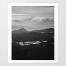 a dark earth Art Print