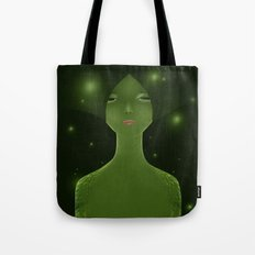 Woman_snake Tote Bag