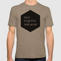 Solo Mens Fitted Tee Tri-Coffee SMALL