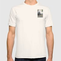 Temple at Dusk Mens Fitted Tee Natural SMALL
