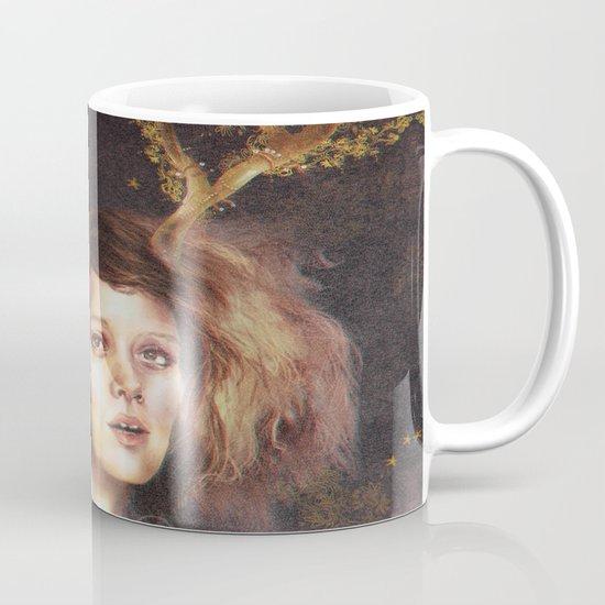 The Golden Antlers Mug