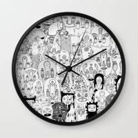School daze Wall Clock
