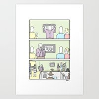 Dress for the Job You Want Art Print