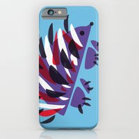Colorful Abstract Hedgehog iPhone 6 Slim Case