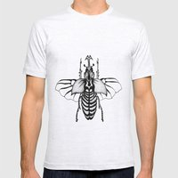 Beetle Mens Fitted Tee Ash Grey SMALL