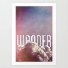 Wander (vertical) Art Print