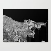 East Hill Cliff Railway Canvas Print