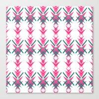 Pink Dart Canvas Print