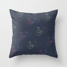 Love your bike Throw Pillow