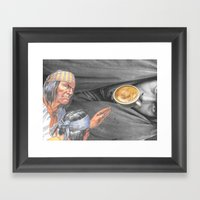 Always On The Trail Of T… Framed Art Print