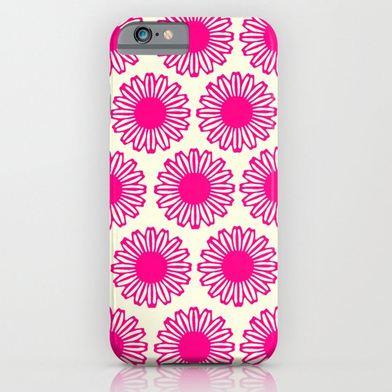 Vintage Flower_Pink iPhone & iPod Case