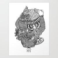 atlante Art Print