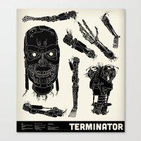 Decommissioned: Terminator  Canvas Print