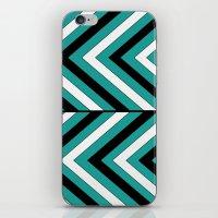 Pattern Turquoise 1 iPhone & iPod Skin