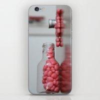 Heart Drops iPhone & iPod Skin