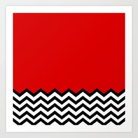 Black Lodge Dreams (Twin Peaks) Art Print