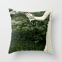 Madam Throw Pillow