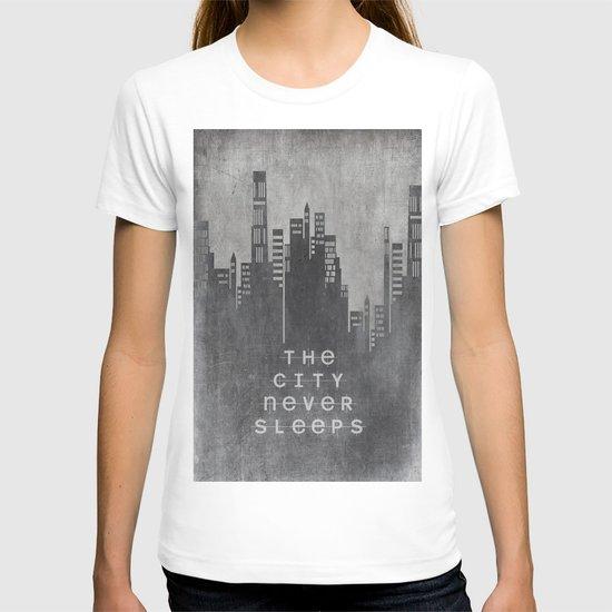The City Never Sleeps T-shirt