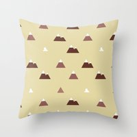 Mountains Throw Pillow