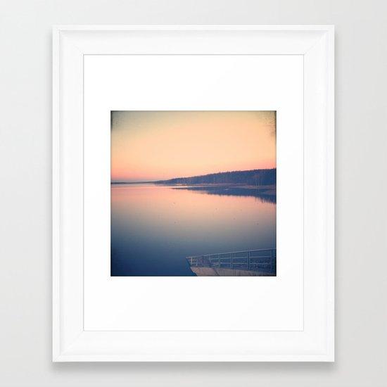 Morning Comes Softly Framed Art Print