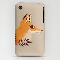 Fox Familiar iPhone (3g, 3gs) Slim Case