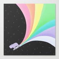 Capybara:  IN SPACE! Canvas Print