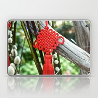 Chinese Knot (Red) Laptop & iPad Skin