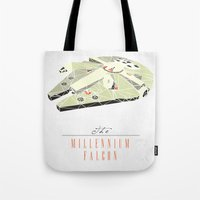 The Millennium Falcon Tote Bag