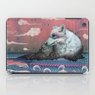 iPad Case featuring Lone Wolf by Mat Miller