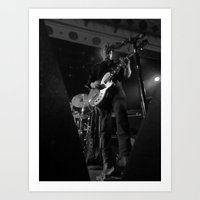 josh homme // queens of the stone age Art Print
