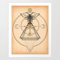 The Mystic Art Print