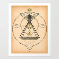 The Mystic Art Print