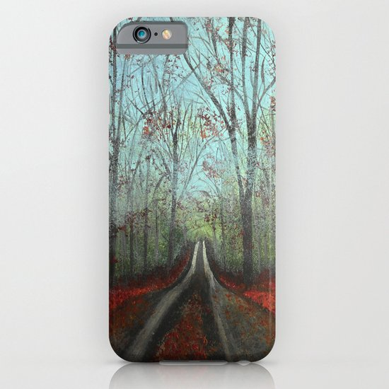 Misty Forest iPhone & iPod Case
