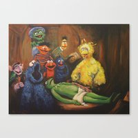 The Anatomy Lesson Of Dr… Canvas Print