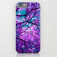 iPhone & iPod Case featuring Purple Tree II by Blackpool