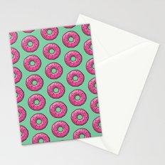 sprinkled PinkDonuts Stationery Cards