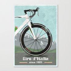 Giro d'Italia Bike Canvas Print
