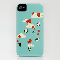 iPhone 4s & iPhone 4 Cases featuring We Can Fly! by Jay Fleck